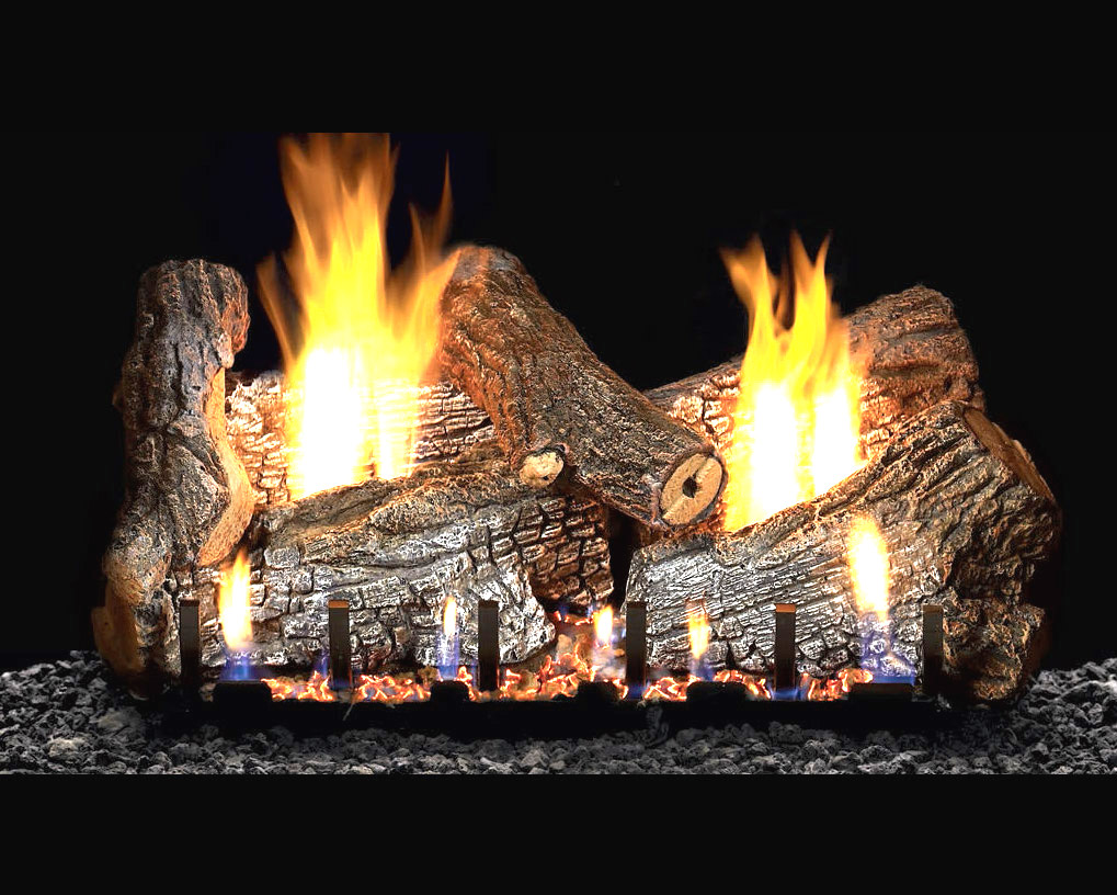 Sassafras Vent Free Gas Log Set Optional Remote 18 24 30 Ebay