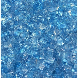 "1/4"" Arctic Blue Fireglass artic blue fireglass, fireplace glass, fire pit, firepits, fire pit glass, fireplace, fireglass, fire glass pit, fireplaces glass, fire place glass"