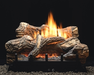 #1 Seller! Flint Hill Vent-Free Log/Burner Set vent free gas logs, vent free gas log, gas logs, gas log.