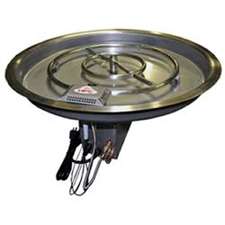 Electronic Ignition Drop-In Burner Pan CSA 110V Electronic Drop-In Burner Pan, Discount Hearth, HPC, Hearth Products Control
