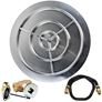 36 inch Stainless Steel Pan-Ring Kit LP