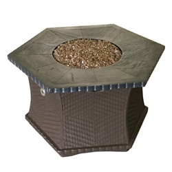 "42"" Woven Chat Height Fire Pit 42"" Woven Chat Height Fire Pit, Discount Hearth, Hearth Distribution, woven, chat height, chat height fire pit, 42"