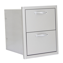 Blaze Double Drawer Blaze Double Drawer, Discount Hearth, Blaze Outdoor Products, Blaze, Outdoor, Outdoor Products, Tables, Double Drawers
