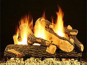 Canyon Oak Canyon Oak vented gas logs, gas fire logs, gas fireplace logs, gas logs for fireplace, vented gas fireplace logs
