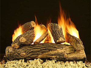 Cascade Round Cascade Round, vented gas logs, gas fire logs, gas fireplace logs, gas logs for fireplace, vented gas fireplace logs