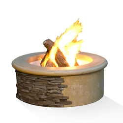 Ready-to-Finish Fire Pit Contractors Model Fire Pit, Discount Hearth, American Fyre Designs, American Fyre Designs Fire Pits, Gas Fire Pits