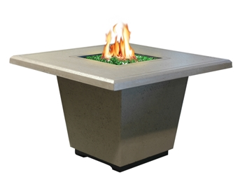 Cosmopolitan Square Dining Fire Table Cosmopolitan Series Square Chat Fire Table, American Fyre Designs, American Fyre Designs Fire Pits, Gas Fire Pits