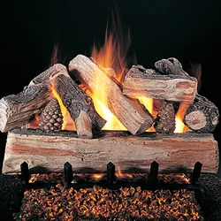 Crossfire Gas Logs Crossfire Gas Logs, Evening Crossfire, Gas Logs, Gas, Logs, Logset, Discount Hearth, Rasmussen, Rasmussen Product