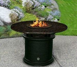 "Del Mar 29"" Dining Height Fire Pit Del Mar 29"" Dining Height Fire Pit, Discount Hearth, Fire Pits, Fire Pit Tables, Dining Height, COC, California Outdoor Concepts"