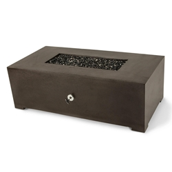 "Dreffco 24"" x 48"" Graphite Rectangle Fire Pit Table Dreffco 24"" x 48"" Graphite Rectangle Fire Pit Table, dreffco, graphite rectangle fire pit table, fire pit, fire pits, dreffco fire pits, discount hearth fire pits, rectangle fire pit"