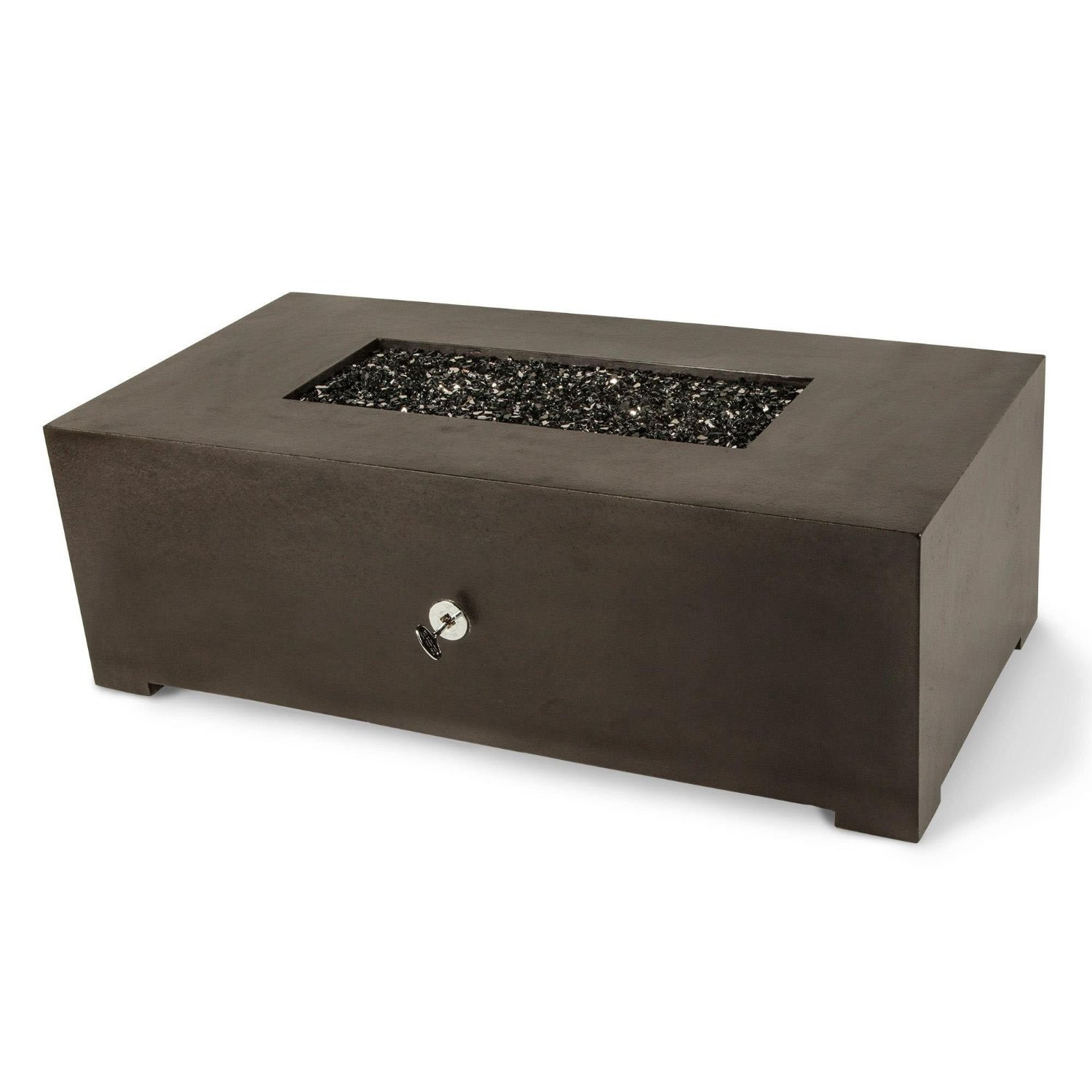 Dreffco 24 X 48 Graphite Rectangle Fire Pit Table Discount Hearth