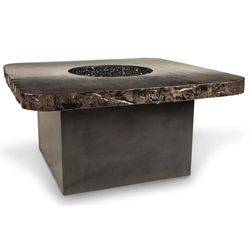 "Dreffco 48"" Graphite Square Fire Pit Table Dreffco 48"" Graphite Square Fire Pit Table, dreffco, square, table, fire pit, fire pits, graphite, dreffco fire pits, discount hearth"