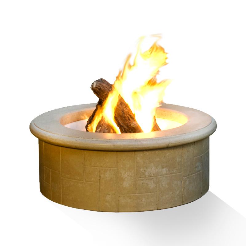 El dorado fire pit discount hearth for Eldorado outdoor fire bowl