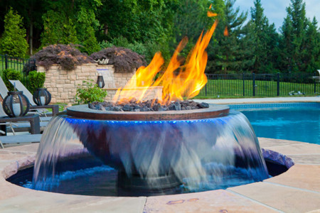Evolution Fire Pit Water Bowl