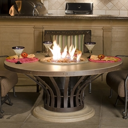 Fiesta Dining Fire Table Fiesta Dining Fire Table, Discount Hearth, American Fyre Designs, American Fyre Designs Fire Pits, Gas Fire Pits