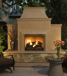 Grand Cordova Fireplace Grand Cordova Fireplace, Discount Hearth, American Fyre Designs, American Fyre Designs Fire Pits, Fireplaces