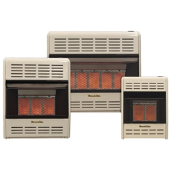 HR Infrared Heater Gas vent free gas logs, vent free gas log, gas logs, gas log