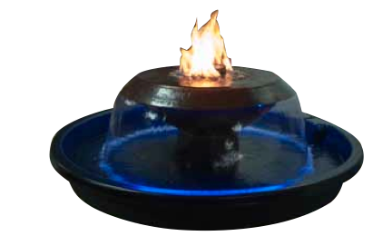 Fire On Water 360 Bowl Hammered Copper Fire On Water Bowl, HPC, Fire On Water, Hammered Copper, H2onFire, H2onFire series, Fire On Water Bowls, Hearth Products Controls, Fire Pits, Outdoor Fire Pits, Sienna Series, Sienna, Discount Hearth