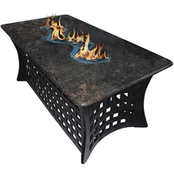 "La Costa 23"" Del Rio Coffee Table Fire Pit La Costa 23"" Del Rio Coffee Table Fire Pit, Discount Hearth, La Costa Series, La Costa, Fire Pit, Fire Pits, COC, California Outdoor Concepts"