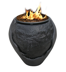 "La Paz 35"" Waterfall Fire Pit La Paz 35"" Waterfall Fire Pit, Discount Hearth, COC, California outdoor concepts, outdoor fire pits, fire pit, fire pits, la paz series, la paz waterfall, waterfall fire pits"