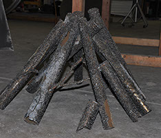 Oak Steel Logs 120 oak steel logs, oak steel, log sets, log set, discount hearth, warming trends, warming trends oak steel log sets, warming trends oak steel