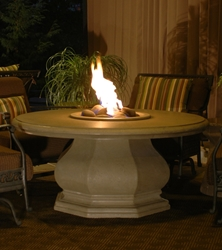 Octagon Chat Height Fire Table Octagon Fire Table, Discount Hearth, American Fyre Designs, American Fyre Designs Fire Pits, Gas Fire Pits