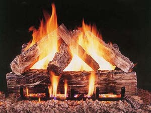 Richmond Richmond vented gas logs, gas fire logs, gas fireplace logs, gas logs for fireplace, vented gas fireplace logs