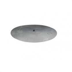 Round Flat Pan Round Flat Pan, Discount Hearth, HPC, Hearth Product Control, Round Flat Pans, Fire Pit Accessories, Fire Pits, Fire Pit Accessory