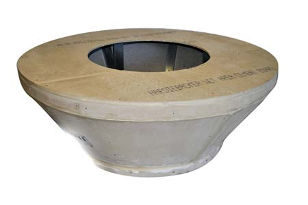 Round Tapered Unfinished Enclosure Round Tapered Unfinished Enclosure, Discount Hearth, HPC, Hearth Products Control, Round, Unfinished Enclosure, Enclosure, Fire Pit, Fire Pits