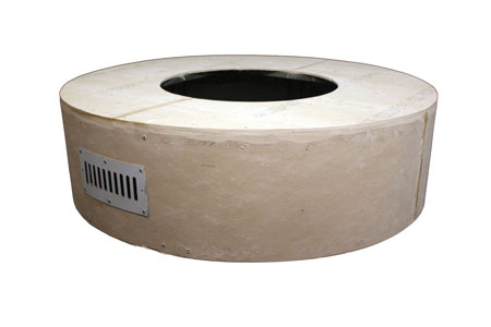 Round Unfinished Enclosure Round Unfinished Enclosure, Discount Hearth, HPC, Hearth Products Control, Round, Unfinished Enclosure, Enclosure, Fire Pit, Fire Pits