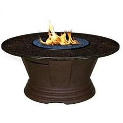 "San Simeon Chat Height Fire Pit 48"" San Simeon Fire Pit Table Chat Height, San Simeon, COC, California Outdoor Concepts, Fire Pit, Fire, Fire Pits, Chat Height, San Simeon Chat Height"