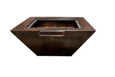 Sierra Smooth Copper Fire & Water Bowl Sierra Smooth Copper Fire & Water Bowl, HPC, Hearth Products Controls, Fire Pits, Outdoor Fire Pits, Water Bowl Fire Pits, Sierra Series, Sierra, Discount Hearth