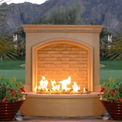 Small Firefall Small Firefall, Discount Hearth, American Fyre Designs, American Fyre Designs Fire Pits, Fireplaces, Firefall, Firefalls