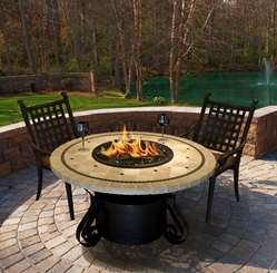 "Solano 23"" Chat Height Fire Pit Solano 23"" Chat Height Fire Pit, Discount hearth, fire pit, chat height, solano series, COC, California Outdoor concepts"