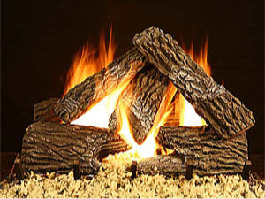 Split Oak Split Oak, vented gas logs, gas fire logs, gas fireplace logs, gas logs for fireplace, vented gas fireplace logs