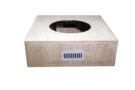 Square Unfinished Enclosure Square Unfinished Enclosure, Discount Hearth, HPC, Hearth Products Control, Round, Unfinished Enclosure, Enclosure, Fire Pit, Fire Pits