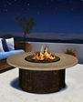 "Tradewinds 23"" Chat Height Fire Pit"