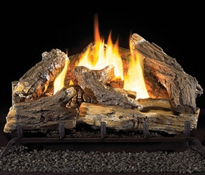 Tupelo 2 Vent-Free vented gas logs, gas logs, fire gas log.
