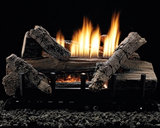Whiskey River Vent-Free Log/Burner Set vent free gas logs, vent free gas log, gas logs, gas log.