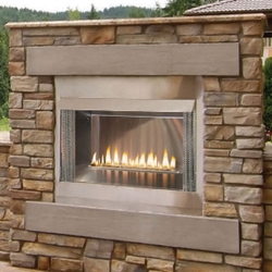 "36"" Loft Premium Outdoor Fireplace 36"" Loft Premium Outdoor Fireplace, Discount Hearth, Stainless Premium, Outdoor, Outdoor Fireplace, Fireplace, Outdoor Product, Loft, Empire, Carol Rose Coastal Collection"