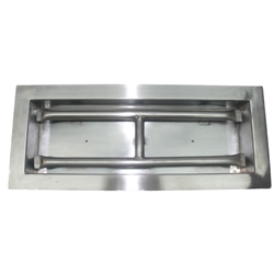 Drop-In Rectangular H Burner Pan