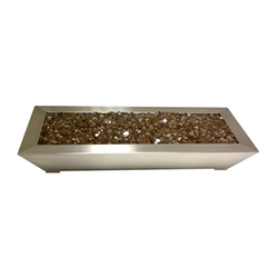 Table Top Glass Burner- SS