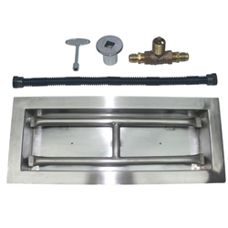 Stainless Steel Drop-In Burner Kit for NG drop-in burner kit, stainless steel burner kit.