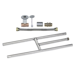 Stainless Steel H Burner Kit LP burner rings, stainless steel burner rings, burner ring.