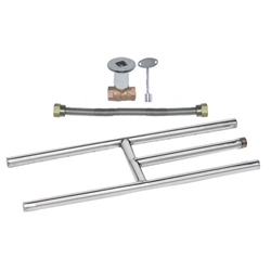 Stainless Steel H Burner Kit NG burner rings, stainless steel burner rings, burner ring.