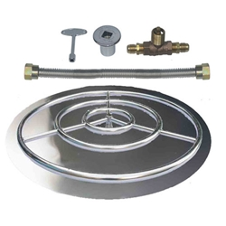 Stainless Steel Burner Pan with Ring Kits for NG burner pan, stainless steel burner pan, burner ring.