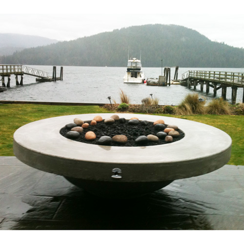 round fire pit table Dreffco 60