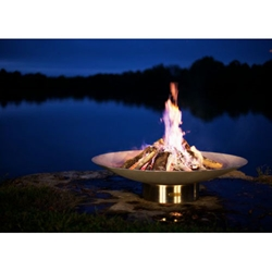 Bella Vita outdoor fire pit, outdoor wood fire pit, outdoor firepit, outdoor gas firepit.