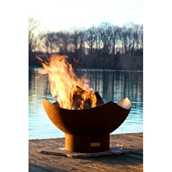 Manta Ray outdoor fire pit, outdoor gas fire pit, outdoor firepit, outdoor gas firepit.
