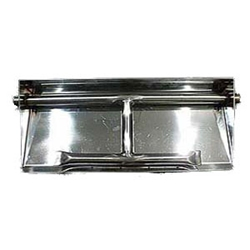 Dual Burner Pan- Stainless Steel stainless steel burner pan, flame burner pans, stainless steel pans, fire pit burners, fireplace burners, burner ring, fire pit, fire pits, fire pit accessories.